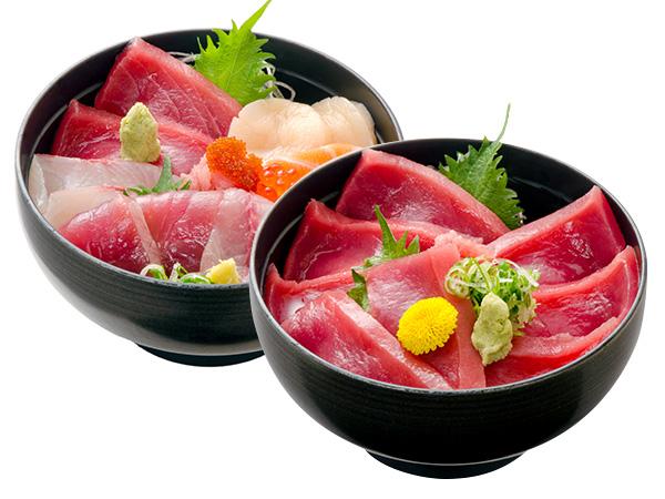 鉄火丼 ・海鮮丼